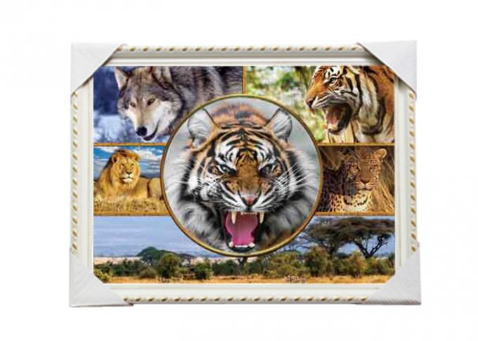Customised PET Pictures 3D Lenticular Printing Service Stock 3D Image PS Frame