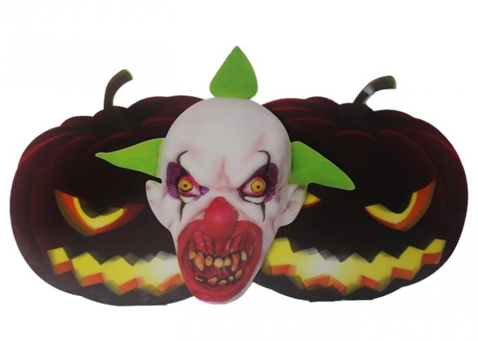 Halloween Window 3D Lenticular Stickers PET 0.6MM With Offset Printing