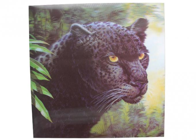 Frameless 3D Pictures Lenticular Printing Services 40x40cm PET Printing
