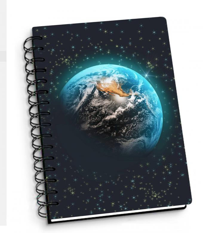 Depth Effect A4 A5 A6 3D Lenticular Notebook For Student Stationery Eco-friendly