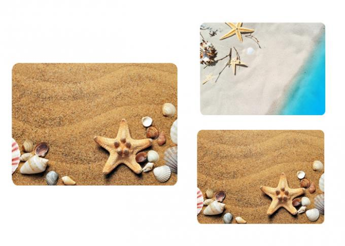 Customize 3d Waterproof Table Place Mat Lenticular Printing Art 0.6mm Pet Plastic For Restaurant