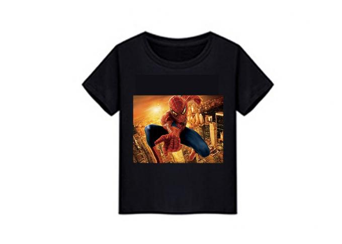 SGS 3D Lenticular Printing Service PVC Super Hero For T - Shirt Fabric
