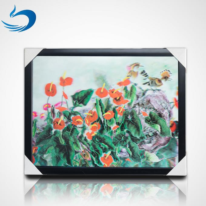 UV Printing 3D Lenticular Picture Frame For Home Decoration