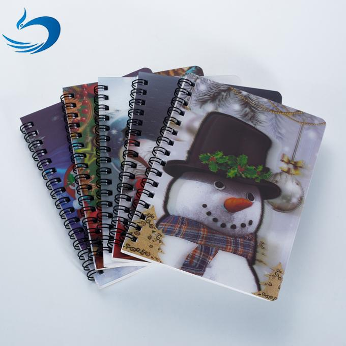Free Sample A5 Size 3d Lenticular Notebook Cover 0.6mm Thickness