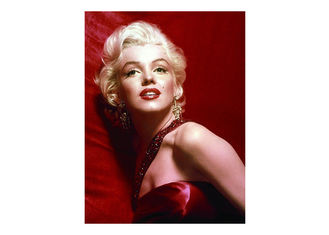 China Stock Lenticular Marilyn Monroe 3d Picture CMYK Printing For Hotel Decoration supplier