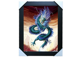 China Customised Decorative Pictures 3D Lenticular Printing Service PS Frame For Gift supplier
