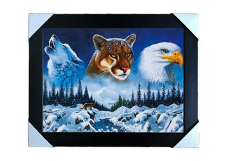 China PS Frame Stock  3D PET Lenticular Printing Services Wall Decorative Picture supplier