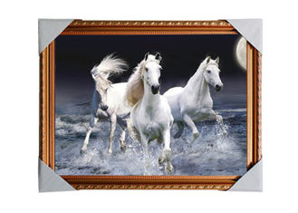 China 3D Art Custom Lenticular Printing Pictures Offset Print PS Frame For Home Decorative supplier