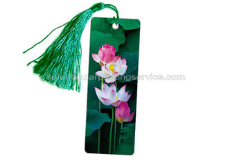 China PET Type Souvenir 3D Lenticular Bookmarks Customized 3D Lenticular Prints supplier