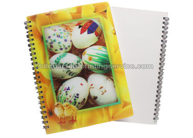 China PET / PP Jotter 3D Lenticular Notebook A5/A6 Size UV  Printing for School supplier
