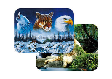 China Waterproof Plastice 3D Lenticular Placemats Directly Printing PET supplier