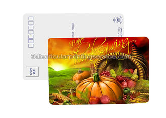 China Hollaween Postcard 3D Lenticular Postcards Personalised 3D Animated Pictures supplier