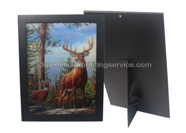 China 3D Picture Paper Frame Lenticular Printing Services PET Custom Design Stand Or Hang Decoration supplier