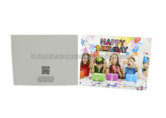 China Change Effect 3D Lenticular Printing Service 0.6mm PET 3d Greetings Cards supplier