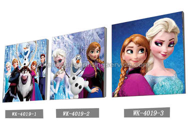 China Custom Frozen Design 3D frameless Plastic Printing Service PET Pictures supplier