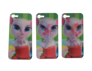 China Custom Iphone Cases Lenticular Flip With 0.6mm PET Eco - Friendly Material supplier