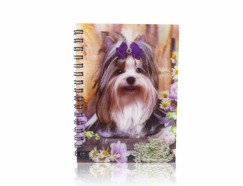 China Sea World And Animal A6 3D Lenticular Notebook With Display Box For Student Stationery supplier