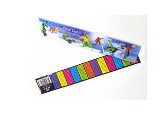 China Custom 3D Stationery Lenticular Ruler With Logo Promotional Gift supplier