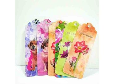 China Colorful Lenticular 3D Bookmark For Gift Promotional / Personalized Book Marks supplier