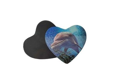 China 3D Lenticular Dolphin Fridge Magnet Eco - Friendly 0.6mm PET Material supplier