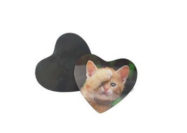China Cut Cat Plastic Customized Lenticular 3D Fridge Magnets / 3D Refrigerator Magnets supplier