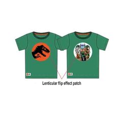 China Amazing Clothes Soft PVC 3D Lenticular Printing Service Of Flip Effects 3D TPU supplier
