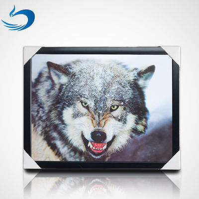 China UV Printing 3D Lenticular Picture Frame For Home Decoration supplier