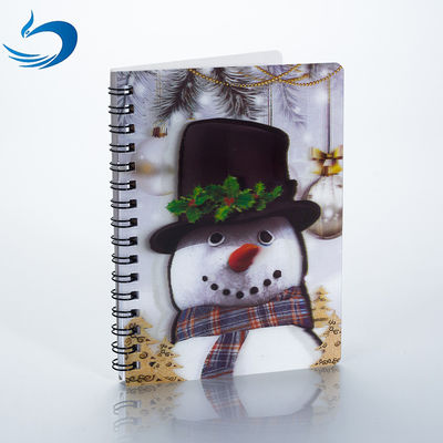 China A5 PET 3D Lenticular Notebook Customized Spiral Bound Notebook SGS Listed supplier