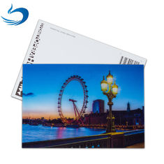 China Scenery 3D Lenticular Postcard / Promotional Gift Cards Size 11*16cm supplier