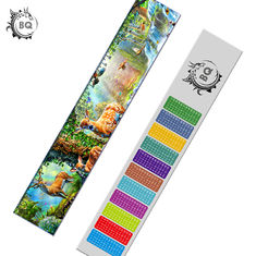Custom 5.4x31cm  Mcdonald Lake 3d Lenticular Ruler PET Material For Student Stationery