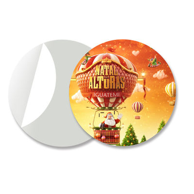 Small Size Adhesive 3D Lenticular Stickers PET/ PP Printing For Key Chain