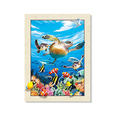 PET Material Printing 5D 3D Lenticular Picture Printing For Home Decoration supplier