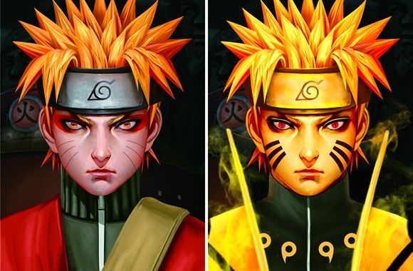 NARUTO Three Dimension Lenticular Anime Poster Matte Lamination