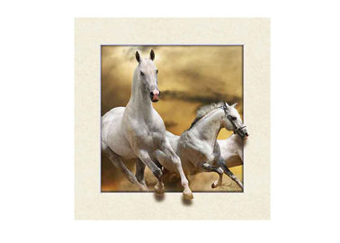 Stock Horse Image 5D Pictures Lenticular Photo Printing PET/PP Lenticular Printing
