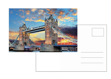 London Tower Images 6x9 Inch 3D Lenticular Postcard For Souvenirs & Gifts