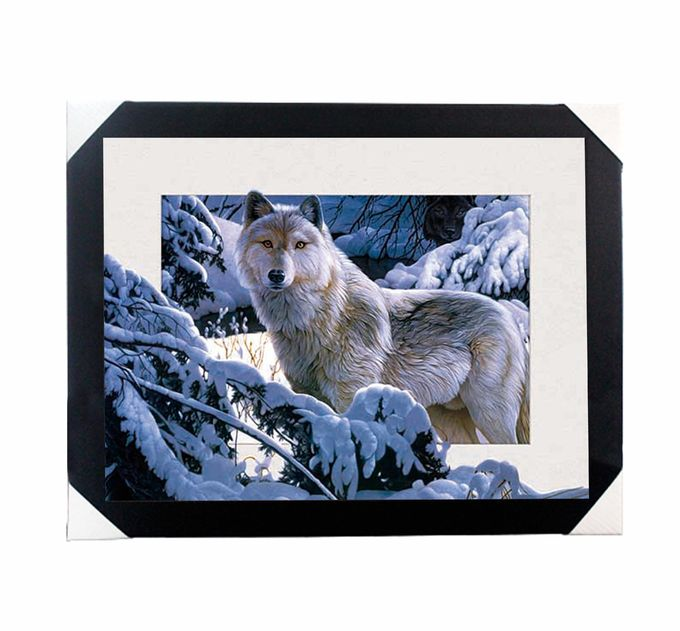 0.6mm PET 5D Lenticular Printing Services With Cute Animal Photos For Gift / Advertisement